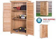 Patio Storage Cabinets Outdoor Storage Cabinet Shed Tool Organizer Garden Backyard Yard