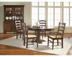 Black Oval Dining Room Table - decorating impressive old attic heirloom furniture for kitchen or