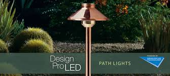 design pro led path lights kichler landscape lighting