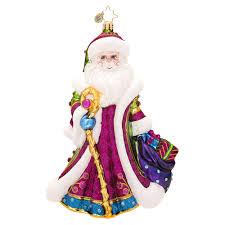 christopher radko ornaments 2014 radko santa ornament winter