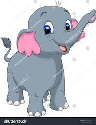 cute elephant cartoon stock vector 200207189 shutterstock
