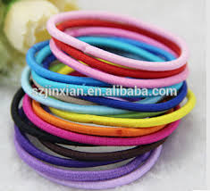 elastic hair band elastic metal free hair ring hair band rubber hair tie buy