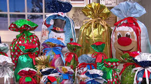 kringle express 60pc easy drawstring gift bags tags on qvc
