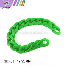 wholesale colored plastic beads chain buy plastic beads