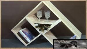 2 board modular bookshelf wine rack woodworking basics youtube