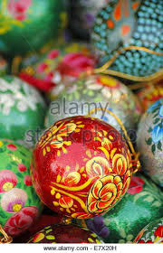 painted baubles stock photos painted baubles stock images alamy