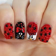 122 best nail art 6 hello kitty images on pinterest