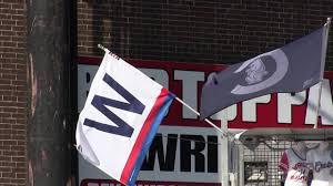 Chicago Cubs Flags Fly The W Flythew Chicago Cubs Video Youtube