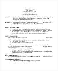 industrial engineering internship resume objective 44 sle resume templates free premium templates