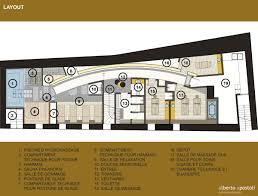 Massage Spa Floor Plans A Spa With A Medieval Alberto Apostoli Plan Social Design