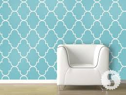 temporary wall paper wallpaper temporary removable wallpaper classic trellis teal