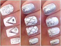 3 easy prom nail art designs youtube