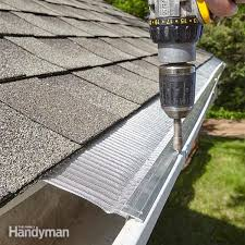 gutter replacement how to install gutters the family handyman