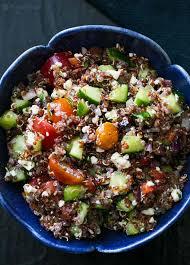 quinoa thanksgiving recipes quinoa greek salad recipe simplyrecipes com