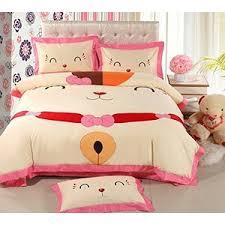 meow meow cat print bedding polyvore