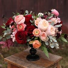burgundy flowers best 25 burgundy floral centerpieces ideas on