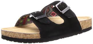 amazon com skechers women u0027s memory foam double strap sandal slides