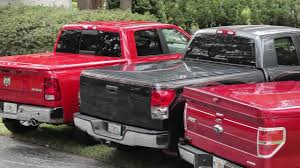 Dodge Ram Truck Bed Covers - hard hinged painted tonneau cover product review at autocustoms