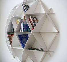 Diy Honeycomb Shelves by Honeycomb Wall Shelves The Bookshelf Comb Is Both Creative And