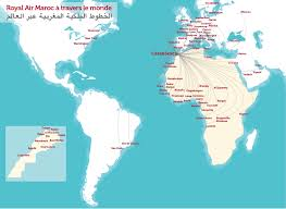 Accra Ghana Map Route Maps International Airline Go To Morocco Royal Air Morocco