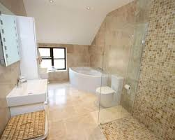 beige bathroom designs beige white ceramic floor tiles bathroom with bath corner bath