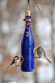rebecca u0027s bird gardens blog diy wine bottle bird feeders
