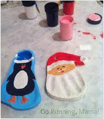 go running salt dough ornaments easy inexpensive