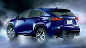 blue lexus nx lexus nx updated again in japan adds smart powered tailgate