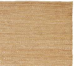 Synthetic Jute Rug Heather Chenille Jute Rug Natural Pottery Barn