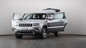 Used Jeep Grand Cherokee 3 0 Crd Limited Plus 5dr Auto Grey