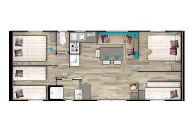 mobil home 4 chambres mobil home palaos 8 personnes 4 chambres cing le fanal 4