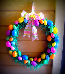 how to make an easter egg wreath diy easter egg wreath for 5 00 once upon a craft
