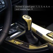 6 speed manual gear shift knob for bmw e30 e32 e36 e46 e39
