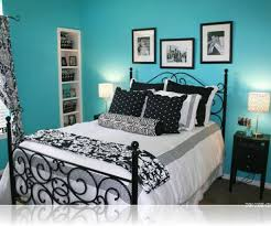 girls iron bed white metal frames using vaulted ceiling design with blue carpet