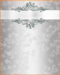 blank wedding invitations 5 blank wedding invitation templates invoice exle