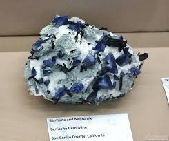 benitoite minerals net mineral news the 2016 tucson gem and mineral show