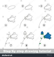 step by step drawing tutorial vector stock vector 363757874