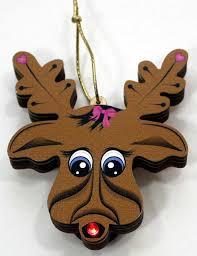 led reindeer ornament cin s crafts