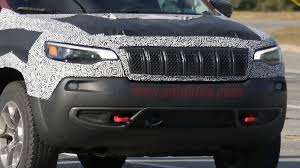 jeep cherokee lights the 2019 jeep cherokee is getting a refresh to look more like the