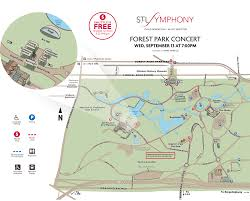 st louis symphony orchestra concert in forest park