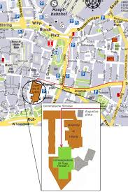 map of leipzig leipzig map with