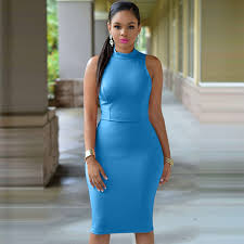 tight dress solid tight dress halter office pencil skirt 116 in dresses