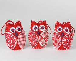 White Bird Christmas Decorations by Owl Christmas Ornaments Bird Christmas Ornaments Handmade