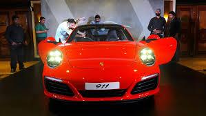 porsche 911 launch porsche launches 2017 range of 911 turbo models in india
