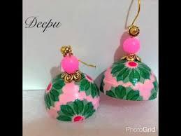 decoupage earrings quilling decoupage earrings
