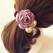hair bands for korean beauty ribbon flower hair band for women barrette hair