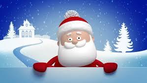 animated santa animated santa claus stock footage