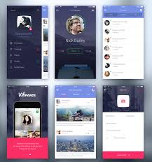top 35 free mobile ui kits for app designers 2017 colorlib