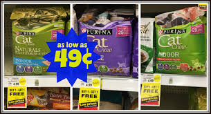 purina cat chow cat food as low as 0 49 at kroger kroger krazy