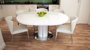 wood expandable round dining table narrow dining tables for small